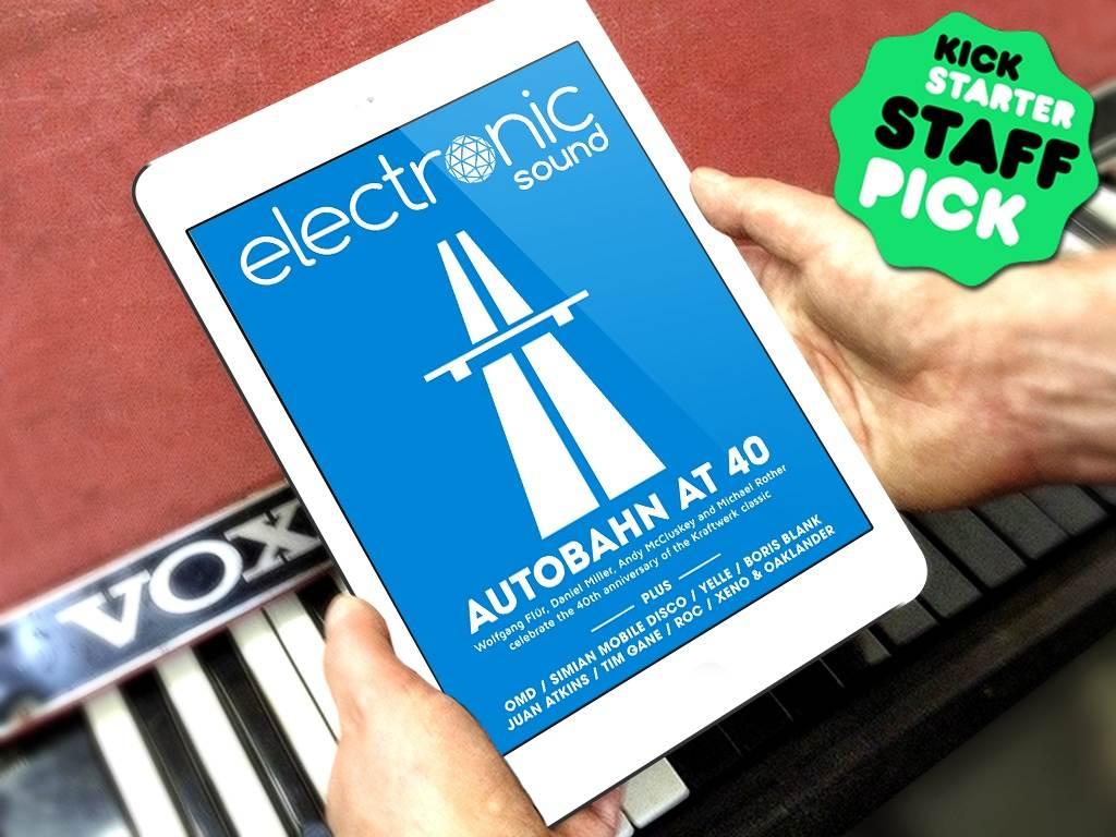 Electronic Sound Magazine Launches Kraftwerk Crowd-funding